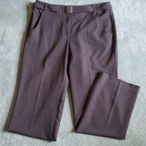 EUC Larry Levine Sz 12 brown pants